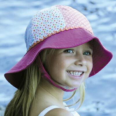 UVカット 帽子 子供用 キッズ uv ハット 子供帽子 子供 赤ちゃん 帽子 女の子 ベビー帽子 キッズ帽子 あかちゃん帽子 ベビー 夏 43cm 46cm 49cm 52cm(目安:0歳〜3歳)