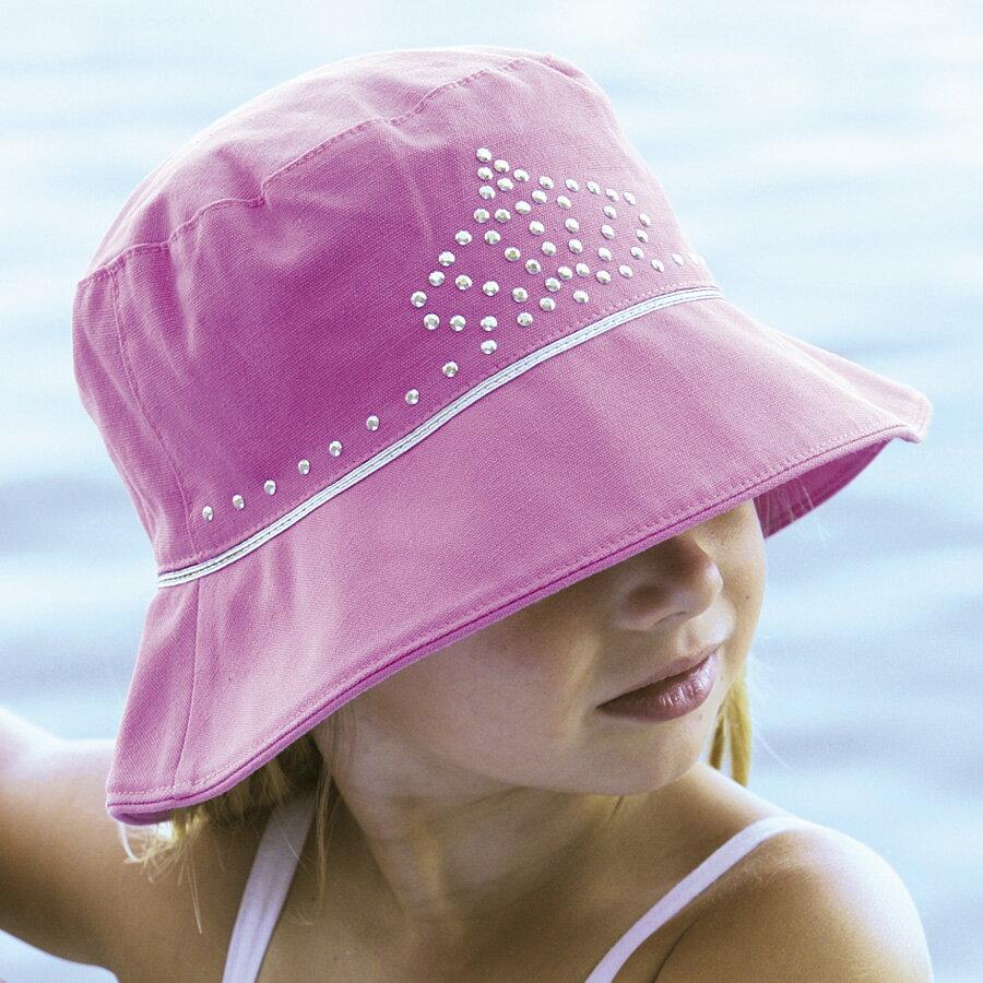 ベビー 帽子 ハット ベビー用 - キッズ ハット 子供帽子 子供 帽子 uv 赤ちゃん 幼児 女の子 ベビー帽子 キッズ帽子 あかちゃん帽子 夏 50cm 1歳〜2歳