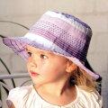 【紫外線対策先進国オーストラリアから直輸入!】UVカット帽子(子供用)-キッズサンハット-トドラーリボンバケットハット※紫外線カット(UVカット)最高値のUPF50+