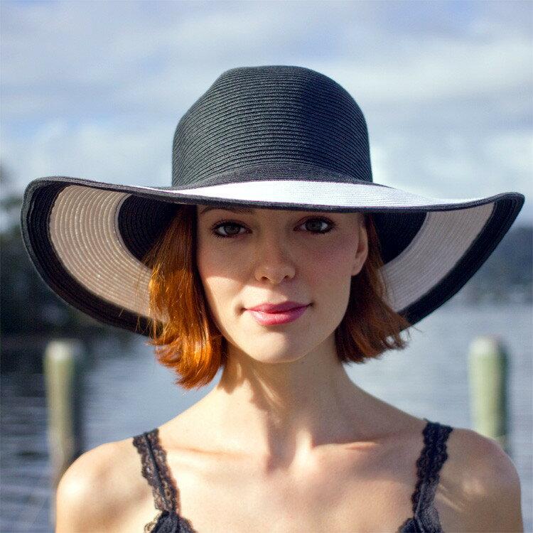 麦わら帽子 ストローハット レディース UVカット ハット つば広 ハット つば広帽 女優帽 日よけ帽子 UV対策 UV対策帽子 UVハット 紫外線対策 夏 帽子 母の日 ギフト