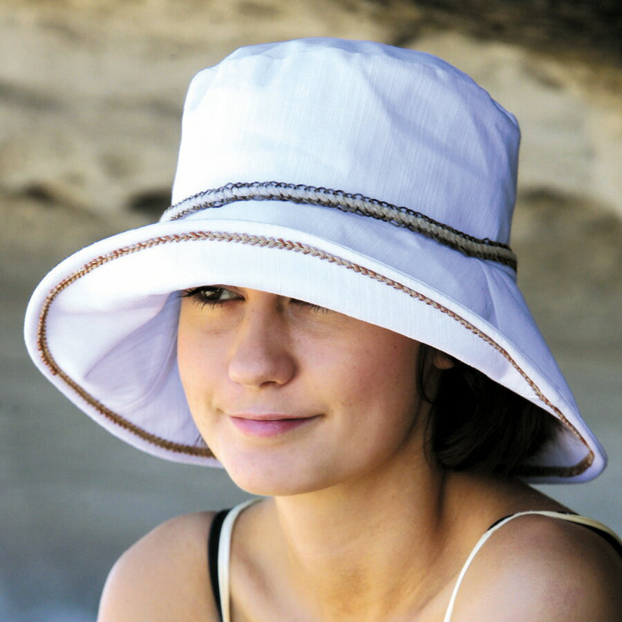 【欧米で大人気】UVカット 帽子 レディース - 女性用 ハット - ライフスタイル UV ぼうし ladies 夏 ※紫外線カット 最高値UPF50+ 母の日 ギフト