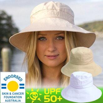 UV 砍光棉休闲旅行者 ★ 帽子帽边宽帽折叠篷顶帽子 UV 措施的帽子 (妇女)-妇女的帽子-UV 帽子包存储女士女士女士 UV 措施预防帽子夏天帽子帽子