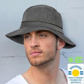 UVカット 帽子(男性用) - メンズ ハット 58cm / 61cm 【農作業 ガーデニング 帽子 UV 日よけ 帽子】【帽子 メンズ おしゃれ 紫外線 春 夏 登山 コンパクトに折り畳み可能】