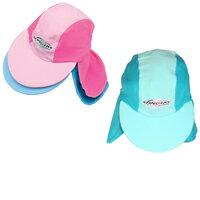 【紫外線対策先進国オーストラリアから直輸入!】UVカットたれつき帽子(ベビー用)※紫外線カット(UVカット)最高値のUPF50+