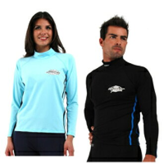 UVカット 水着 - メンズ レディース ユニセックス(男女兼用) ラッシュガード 長袖 ※UVカット(紫外線カット)最高値UPF50+
