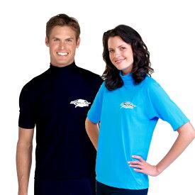 UVカット 水着 メンズ レディース ユニセックス(男女共用) ラッシュガード 半袖※UVカット(紫外線カット)最高値UPF50+