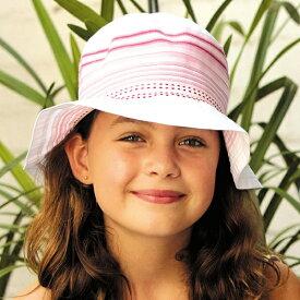 34d5305c266d27 UVカット 帽子(子供用) - キッズ ハット KIDS 子供 こども - マルチ カラード