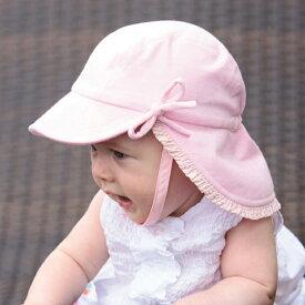 d92e07868a5b7 UVカット 帽子(ベビー用) ベビー ハット 女の子 ピンク サイズ:41cm 目安: