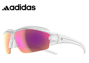 アディダス レディース 調光サングラス [ adidas a198 6097 EVIL EYE HALFRIM PRO S ] [ 度付き 対応 可能 ] 女性用 Lサイズ スポーツサングラス 自転車 登山 ランニング 調光レンズ ミラーレンズ サングラ