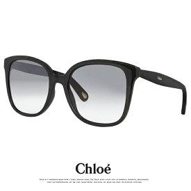 クロエ サングラス CE766S 001 アジアンフィットモデル chloe ce766s レディース 女性用 大きめ Lサイズ ビックレンズ スクエア ウェリントン 型