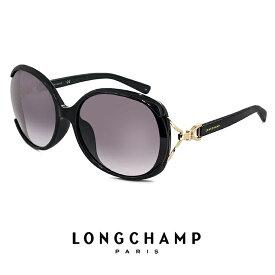 ロンシャン サングラス レディース lo630sk 001 longchamp UVカット UV400 バタフライ 型 ビック レンズ フレーム リフトアップ