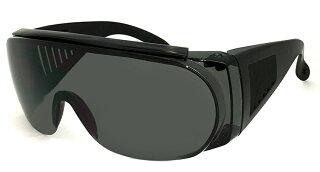 オーバーグラスサングラス[メガネの上から着用可能]メンズレディースサイドガード花粉防塵にもオススメ