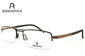ローデンストック 眼鏡 (メガネ) RODENSTOCK r4720 B ナイロール ハーフリム コンビネーション フレーム メンズ 男性用 [ 度付き・伊達メガネ・クリアサングラス・老眼鏡として 対応可能な UVカッ