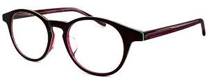 メガネ レディース 丸メガネ かわいい ボストン型 [ 度付き・伊達メガネ・クリアサングラス・老眼鏡として 対応可能 UVカットレンズ付き ] おしゃれ venus×2 1288-4