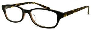 メガネ レディース ウェリントン型 シンプル [ 度付き・伊達メガネ・クリアサングラス・老眼鏡として 対応可能 ] [ 薄型 UVカットレンズ付き ] 女性用 venus×2 1289-6-3
