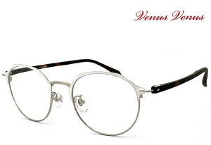 メガネ レディース [ 度付き・伊達メガネ・クリアサングラス・老眼鏡として 対応可能 ] [ 薄型 UVカットレンズ付き ] 女性用 多角形 眼鏡 venus×2 2338-2