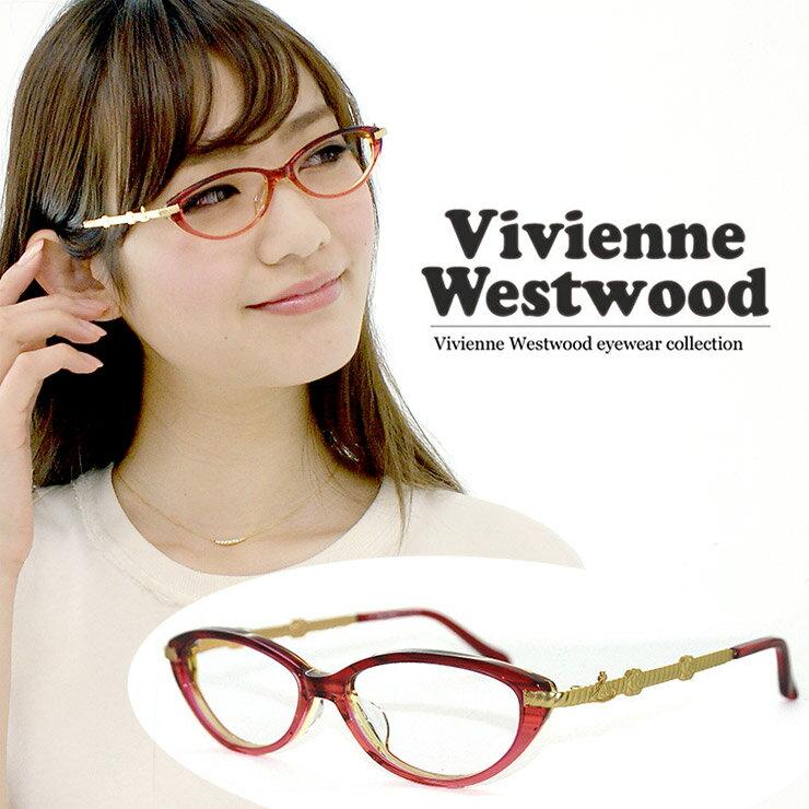 ヴィヴィアン ウエストウッド 眼鏡 (メガネ) Vivienne Westwood vw7039 (rg) vw-7039 [ 度付き・伊達メガネ・クリアサングラス・老眼鏡として 対応可能な UVカット レンズ 付き ] レディース 女性用