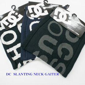 DC SHOES ネックウォーマー 5430J818【18 SLANTING NECK GAITER】【あす楽対応】【あす楽_土曜営業】【dc shoes ディーシー シュー ネックゲイター】