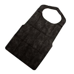 不織布使い捨てエプロン 2000枚入り  カラー:ブラック、ホワイト 品番CE-B、CE-W