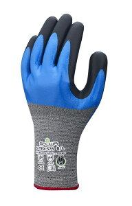 ショウワグローブ S-TEX376 1双 Lサイズ ハガネコイル 耐切創手袋(高強度繊維)作業手袋