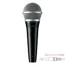SHURE PGA48-QTR 4.6m XLR−フォンケーブル付属 2年保証の日本正規品!シュア マイク