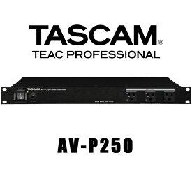 TASCAM AV-P250 パワーディストリビューター/コンディショナー タスカム ティアック TEAC