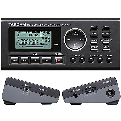 TASCAM GB-10 ギタートレーナー