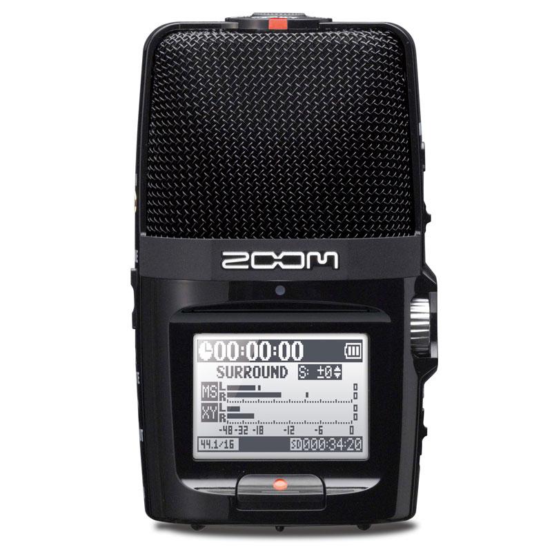 ZOOM H2n【16GB microSDHCカードプレゼント!】安心の日本正規品!