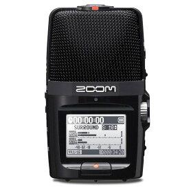 ZOOM H2n 【16GB microSDHCカードプレゼント!】安心の日本正規品!