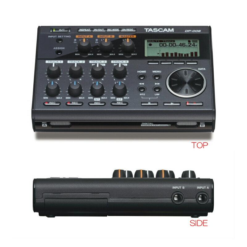 TASCAM DP-006 電池対応コンパクトMTR