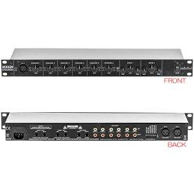 ART MX624 6チャンネル2ゾーン・ステレオ・ミキサー、ダッカー
