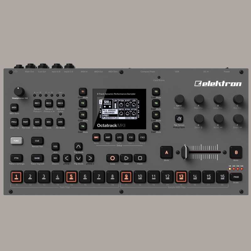 ELEKTRON OCTATRACK DPS-1 MK2 安心の日本正規品!
