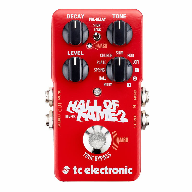 TC ELECTRONIC HALL OF FAME 2 REVERB 安心の日本正規品!