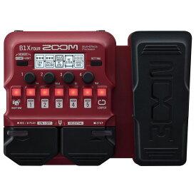ZOOM B1X FOUR ベース用マルチエフェクツ・プロセッサー