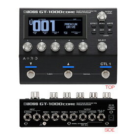 BOSS GT-1000CORE ギター/ベース・エフェクト・プロセッサー