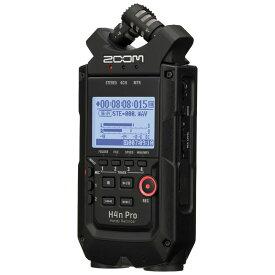 ZOOM H4n PRO/BLK 【16GB SDカードプレゼント】「音楽向け」本格ハンディレコーダー!