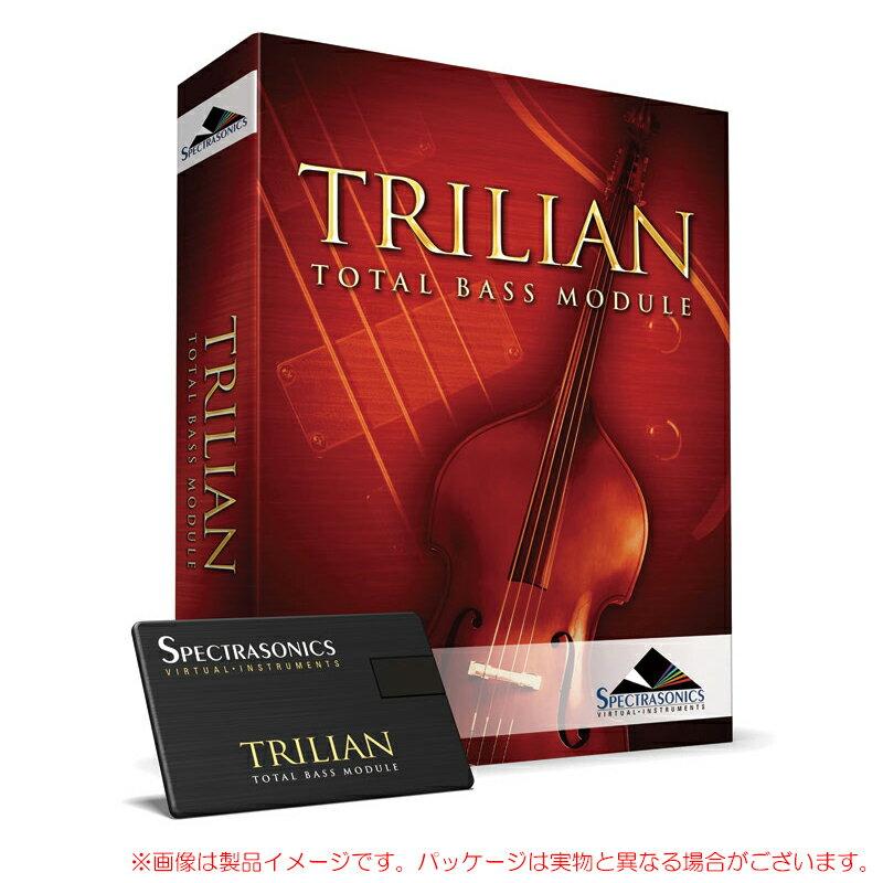 SPECTRASONICS TRILIAN USB版 「NOMAD FACTORY BUS DRIVER」プレゼント!安心の日本正規品!