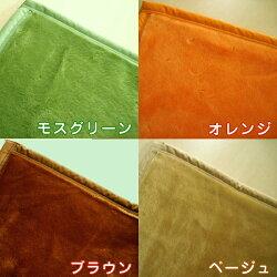 【日本製】西川ニューマイヤー毛布「sunnydays-2」シングルサイズ