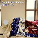 毛布 と 敷きパッド が合体した あったか 寝袋 タイプ 毛布 シングル