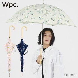 傘 レディース w.p.c 雨傘 オリーブ olive 晴雨兼用 花柄 かわいい おしゃれ 人気 プレゼント wpc ワールドパーティー 【あす楽対応】