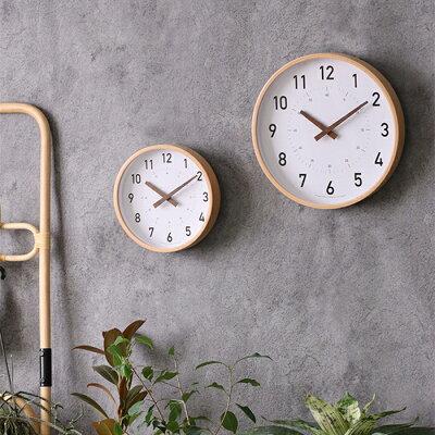 壁掛け時計 キャンパスウォールクロック Lサイズ おしゃれ シンプル 可愛い 小さめ ミニ 知育時計 子供 アナログ 木製フレーム 読みやすい 見やすい 分かりやすい スイーブムーブメント