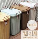 ゴミ箱 ふた付き 大容量 おしゃれ 60リットル 分別 屋外 PALE×PAIL ペールペール ダストボックス 【あす楽対応】