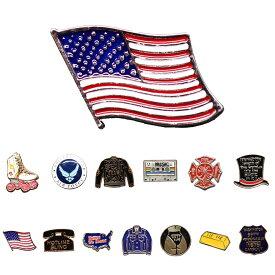メール便送料無料!ピンバッジ ラペルピン バッジ ピンズ ブローチ アメリカ ローラースケート ジャケット カセット ミュージック ハット 帽子 国旗 旗 電話 デニム おしり 金塊 オリジナル
