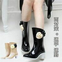 【サイズ有23.0/23.5/24.0/24.5/25.0】ヒール6.5cm筒丈26.5cm雨靴レインブーツレディース雨靴お洒落ハイヒール雨靴長靴雨靴可愛い雨靴茶色ブラックdi259f0f0x0/代引き不可05P05Dec15