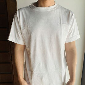 【homspun (ホームスパン) 】天竺 半袖Tシャツ ゆったりタイプ