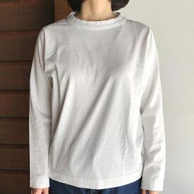 【homspun (ホームスパン) 】30/1 天竺 長袖Tシャツ