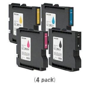GC31KCMYH(Lサイズ)[4色セット]×1パック[RICOHリサイクルインク]