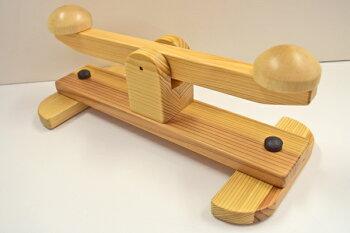 第二の心臓君健康器具木製足踏み器具日本製足の裏運動