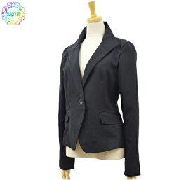 ウイングカラージャケット ブラック 422 夏仕様 サマージャケット 9号11号13号【あす楽対応】ビジネスジャケット 清涼 羽織り 冷房対策 (やや細めですのでワンサイズ大きめをおすすめします)*