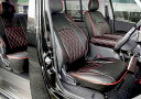 ハイエース 200系 S-GL ダイヤカット シートカバー Ver,2 パイピング 運転席 助手席 後部座席セット 【在庫処分セール…